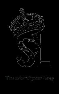 SL Logo Initialien_vert_schwarz+transp